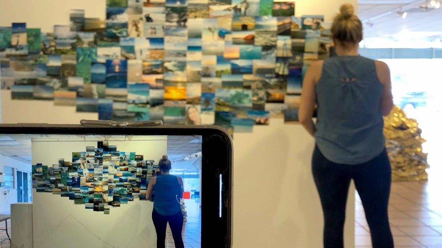 1000 ocean memories exhibit at artserve