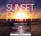 Labor Day Weekend Sunset Party