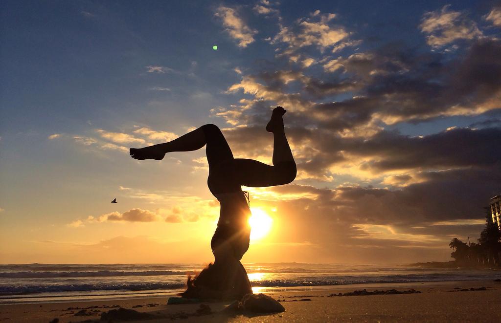 sunset yin meditation