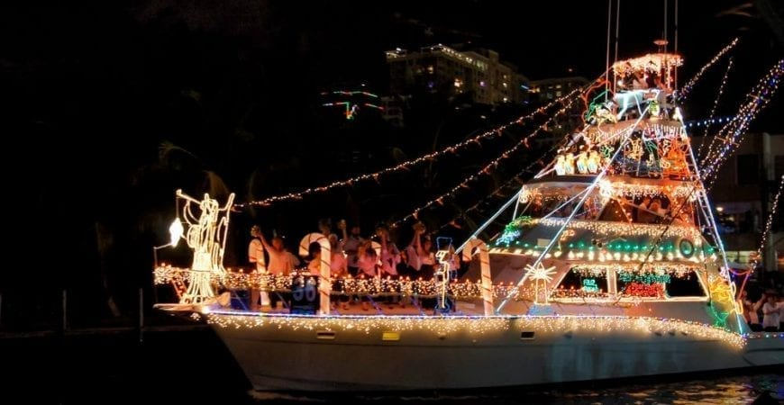 Fort Lauderdale Christmas Boat Parade.Watch The Winterfest Boat Parade Island Side