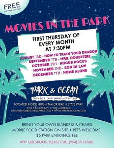 Movies in the Park @ Park & Ocean