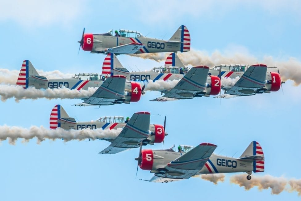 GEICO Skytypers Announce 2016 Air Show Schedule