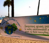 Kids Ecology Corp Beach Clean Up & Scavenger Hunt