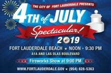 4th july spectacular fort lauderdale beach