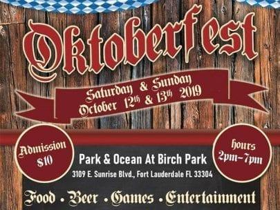 Oktoberfest @ Park & Ocean