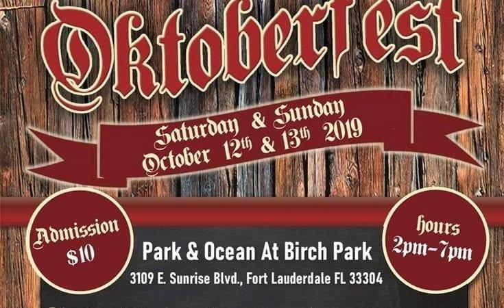 oktoberfest park and ocean