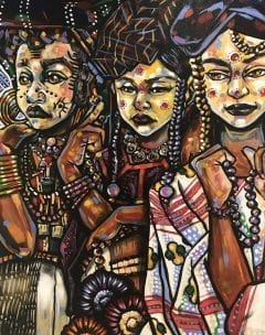 "Roots of the Spirit: Soulful Expressions of the African Diaspora"" VIP Reception @ ArtServe"
