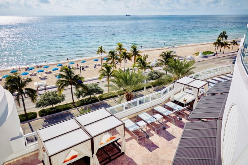 Hilton fort lauderdale hotel for Hilton fort lauderdale beach resort wedding