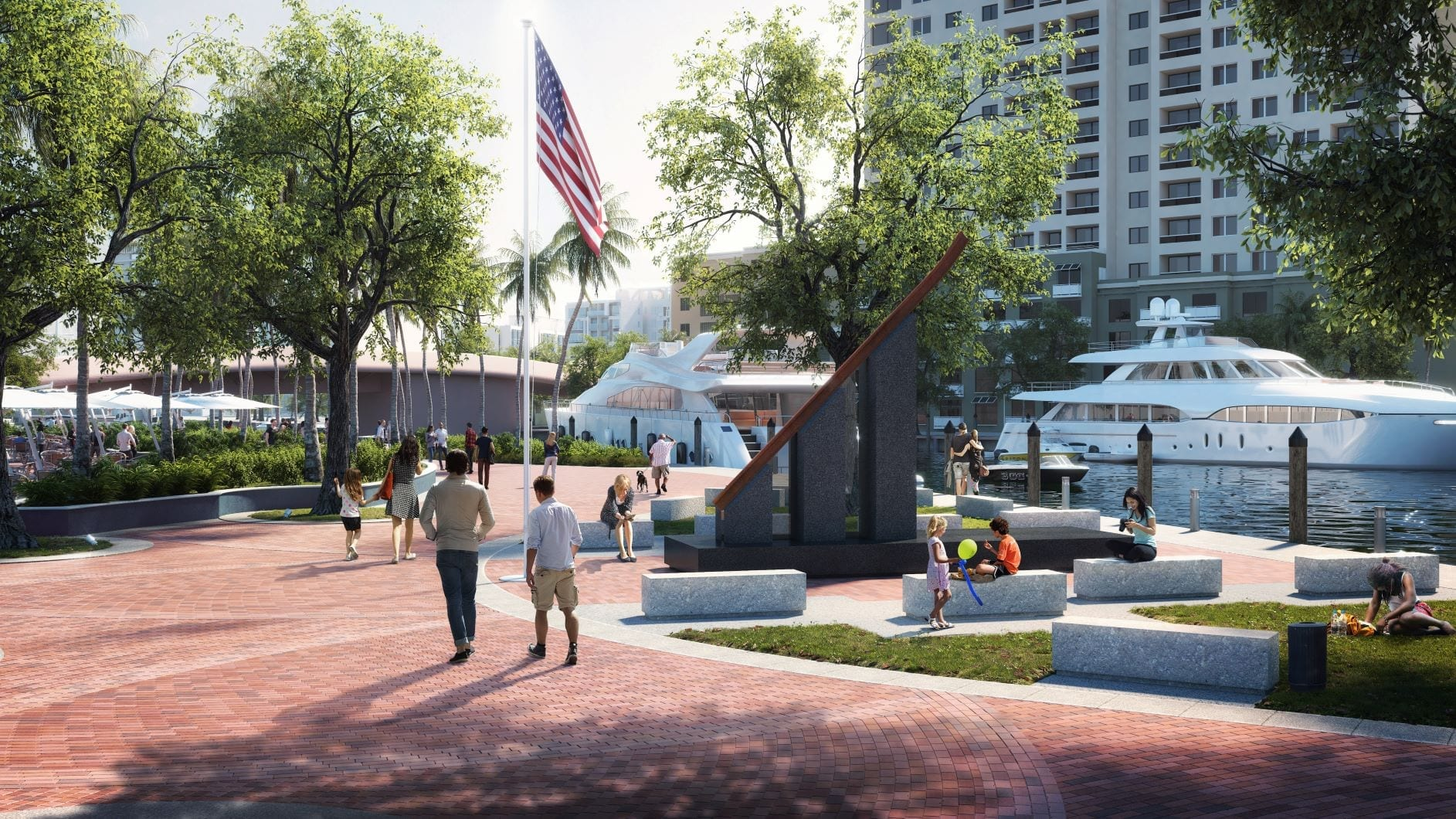 Never Forget: 9/11 Monument Stands Tall in Fort Lauderdale