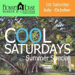 Cool Saturday's @ Bonnet House Museum
