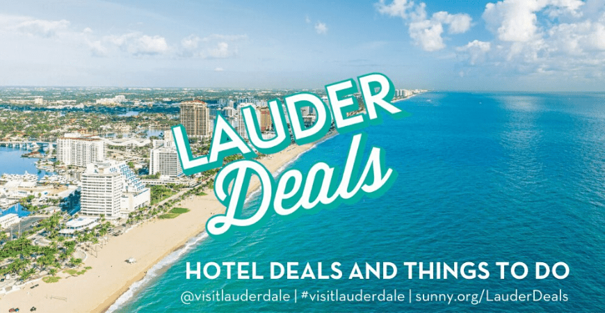 Destination: Fort LauderDEALS Beach