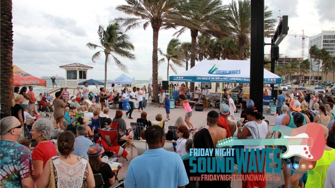 Friday Night Sound Waves Returns for 2018 Season