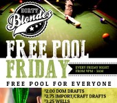 Free Pool Friday