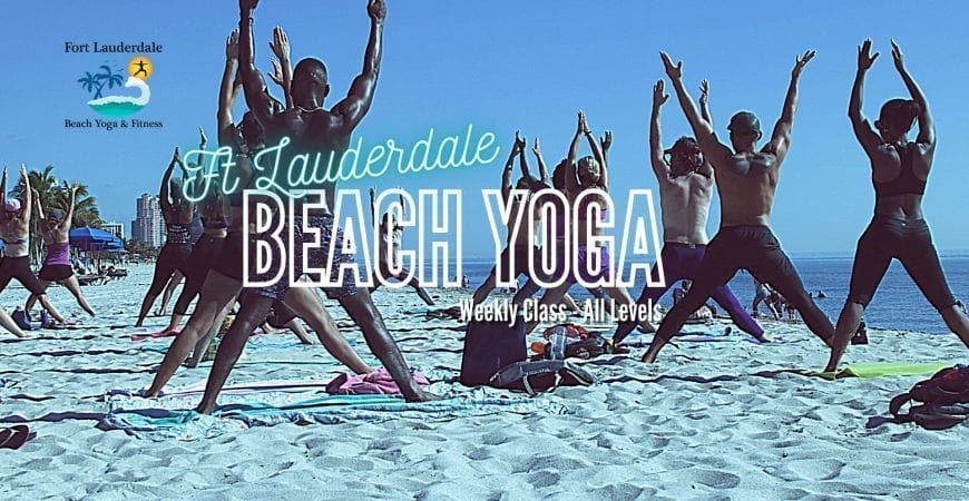 fort lauderdale beach yoga friday
