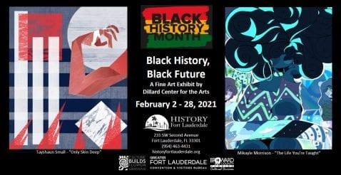 """Black History, Black Future,"" A Fine Art Exhibit @ History Fort Lauderdale"