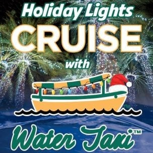 Holiday Lights on the Water Taxi @ Water Taxi on Ft. Lauderdale Waterway
