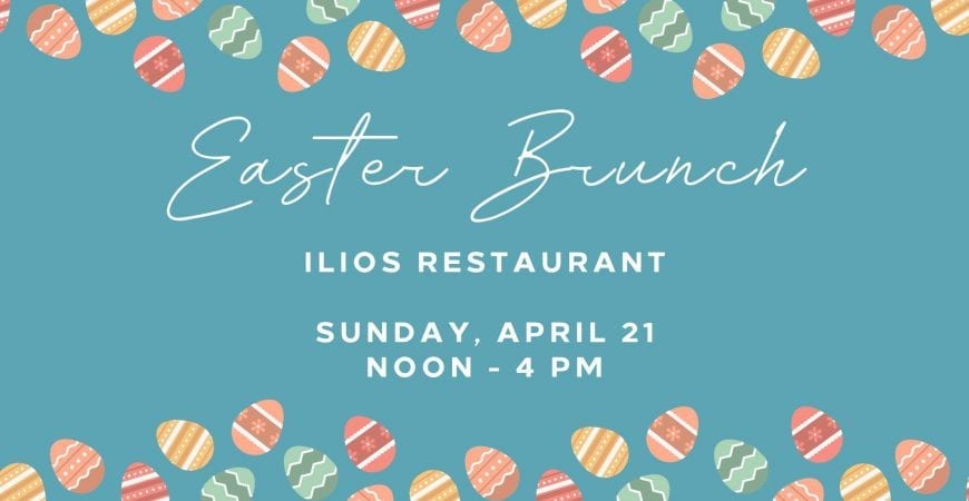 easter brunch at ilios