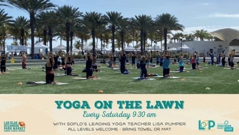 LO/OP Yoga on the Lawn with Lisa Pumper @ Las Olas Oceanside Parks | Fort Lauderdale | Florida | United States