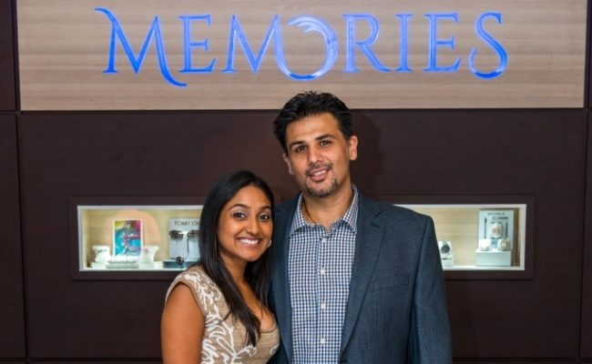 Monty & Kamini Lalwani, Owners of Memories Jewelry Boutique