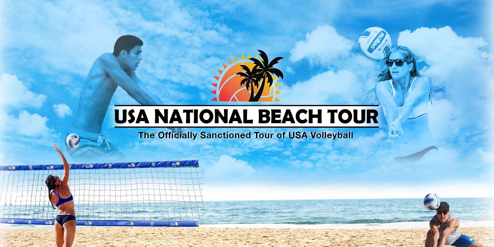usa national beach volleyball tour