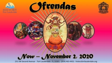"Annual ""Ofrendas"" Cultural Exhibit Shines Spotlight on Hispanic Heritage Month at History Fort Lauderdale @ History Fort Lauderdale"