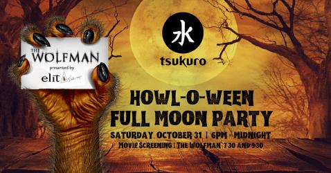 Howl-O-Ween Full Moon Party @ Tsukuro