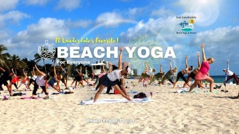 Sunday Beach Yoga Ft Lauderdale Beach @ Fort Lauderdale Beach Yoga & Fitness | Fort Lauderdale | Florida | United States