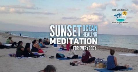 Sunday Evening Meditation @ Fort Lauderdale Beach N.