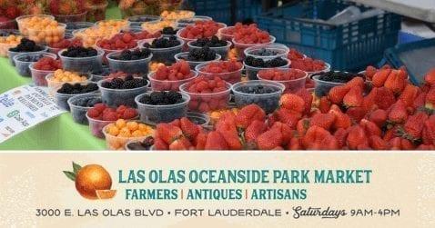 Farmers Market @ Las Olas Oceanside Park