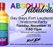 Gay Days Fort Lauderdale Welcome Party