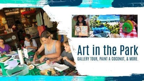Art in The Park: Paint & Sip @ Park & Ocean
