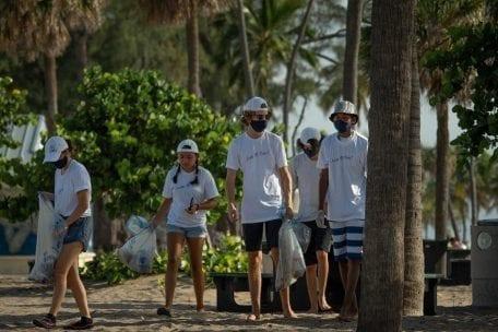 B Safe Beach Cleanup @ Naked Crab at B Ocean Resort | Fort Lauderdale | Florida | United States