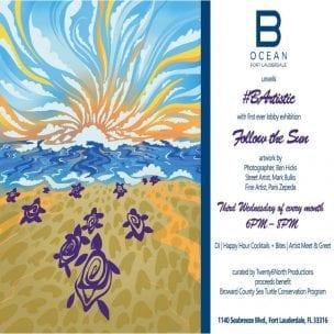 B Artistic 'Follow The Sun' Exhibition at B Ocean Resort @ B Ocean Resort