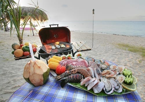 Beach Barbecue
