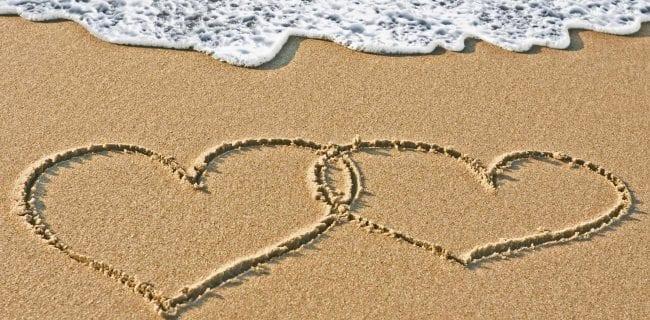 valentine beach hearts