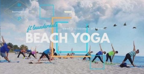Fort Lauderdale Beach Yoga -PRE-PAID REQUIRED- @ Lisa Pumper- Ft. Lauderdale Beach Yoga & Fitmess