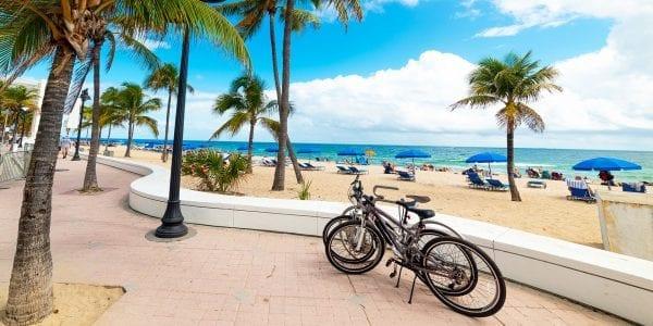 bike around fort lauderdale beach