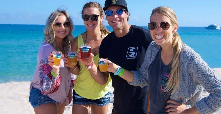 brews at the beach event
