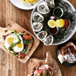 burlock coast brunch menu