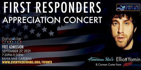 First Responders Concert @ Bahia Mar Fort Lauderdale