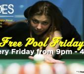 Free Pool Friday