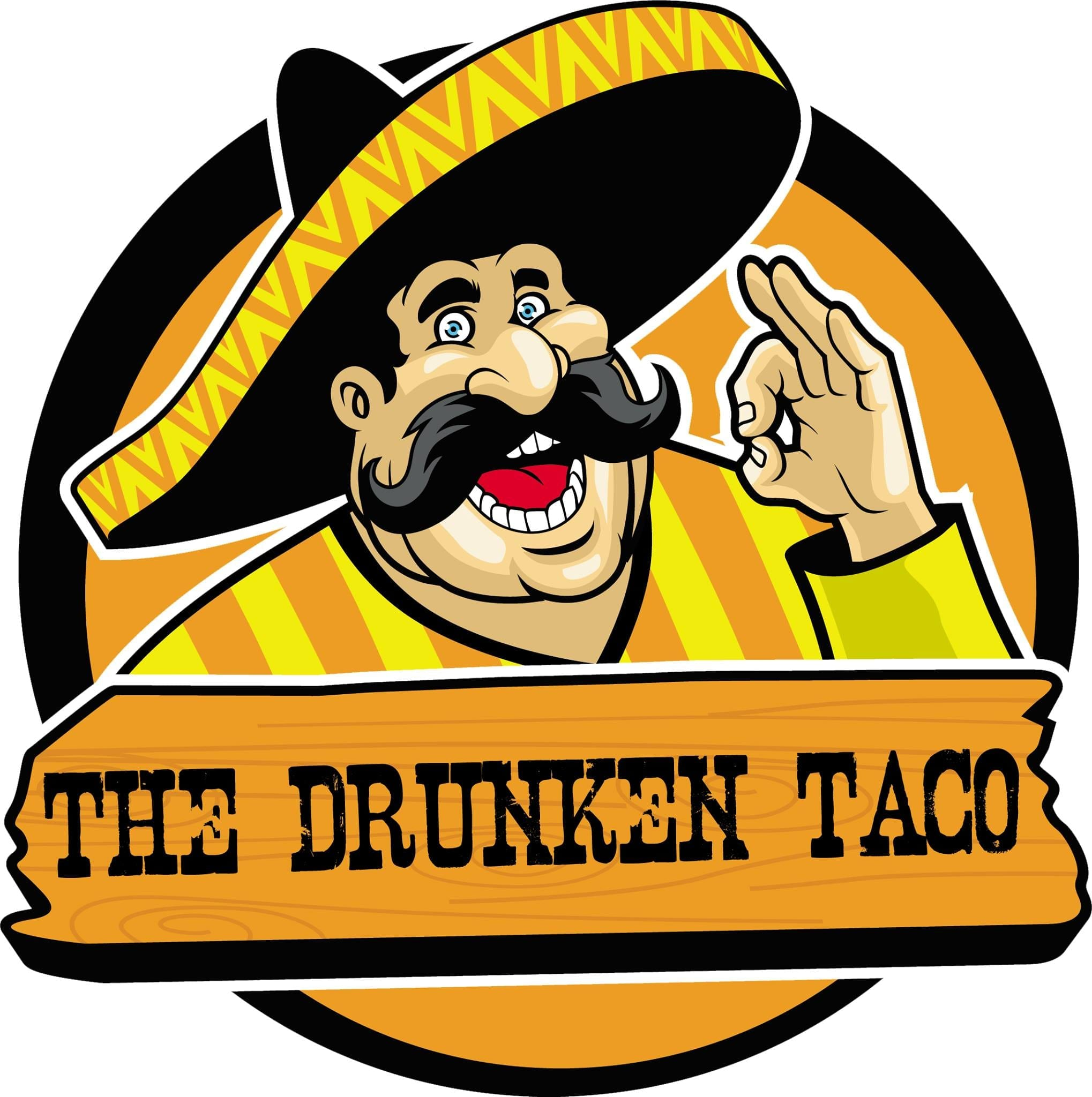 drunken taco logo