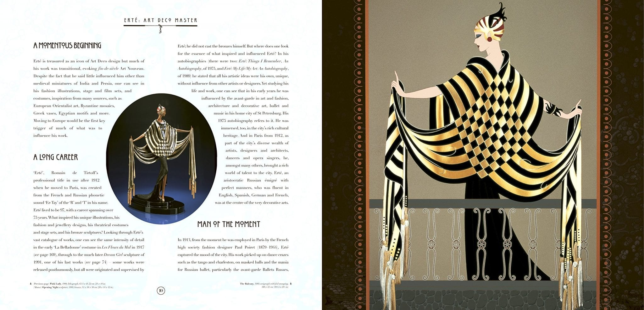 Priceless Erté Collection Revealed at Red Carpet Event