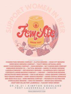 FemAle Brew Fest @ Kimpton: The Goodland Fort Lauderdale Beach
