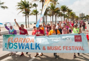 Florida AIDS Walk @ Fort Lauderdale Beach Park