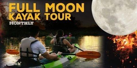 Full Moon Kayak Tour @ Park & Ocean at Birch State Park