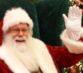 Santa Claus Photos at Galleria Mall