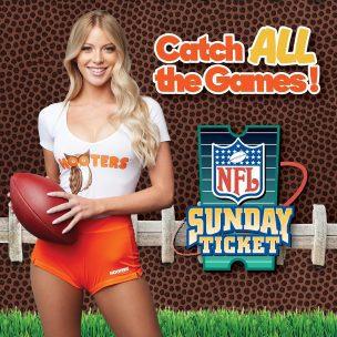 NFL Sunday's @ Hooters Beach Place