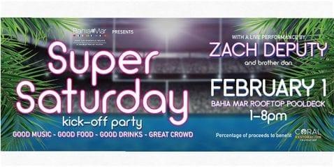 Super Saturday Kickoff Party @ Bahia Mar
