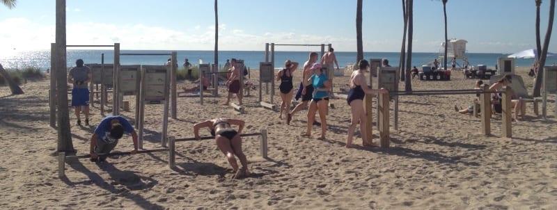 fort lauderdale beach park gym